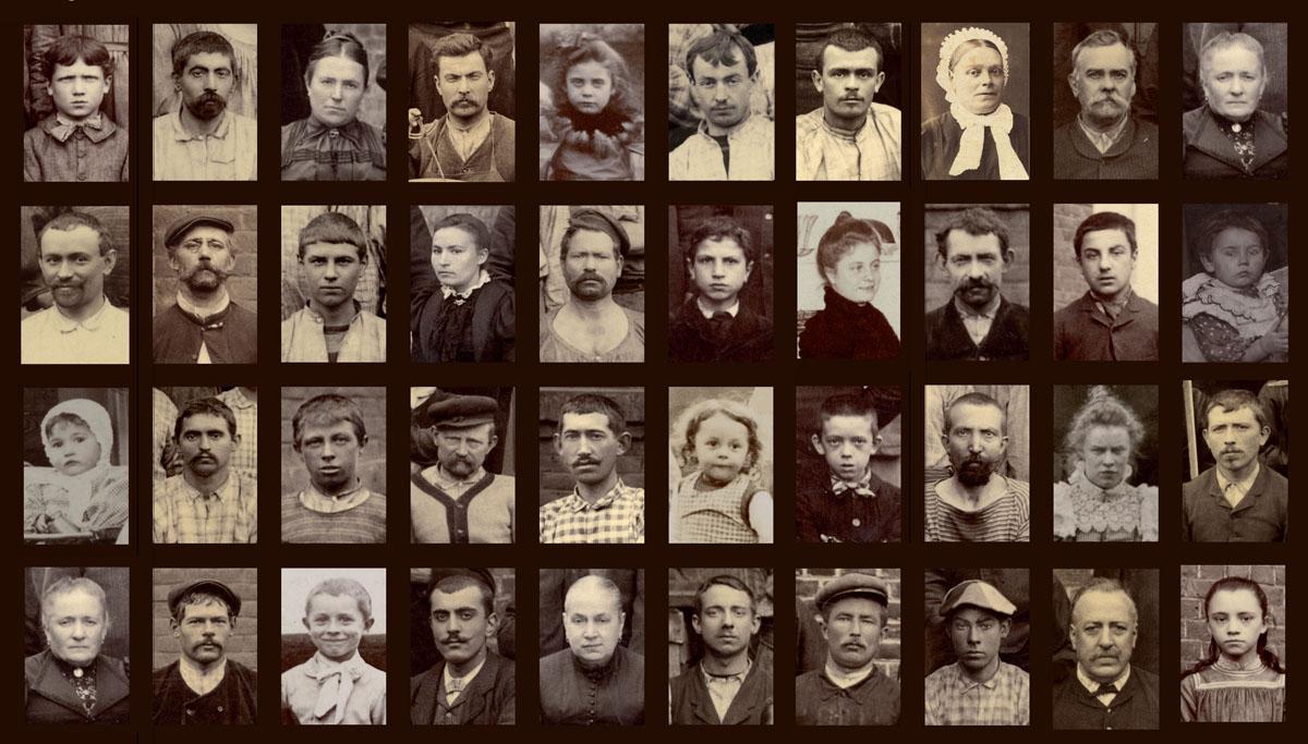 Portraits d'habitants et de travailleurs du Familistère